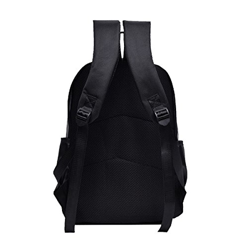 Yy.f Neue Explosion Modelle Mode Öl Haut Schultern Ledertasche Laptop Tasche Black