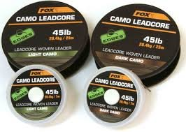 Fox Edges Camo Leadcore 7m, Farbe:Dark Camo -