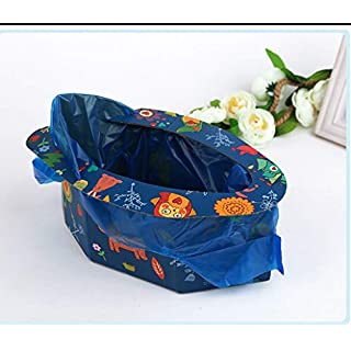 Anano Travel Potty Urinal for Kids-4 Times,Portable Baby Pot Emergency Toilet or Road Trip, Camping, Traveling, Hiking and Car Essential