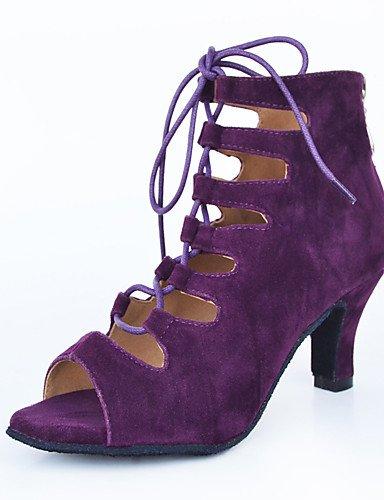 La mode moderne Non Sandales Chaussures de danse pour femmes personnalisables en cuir Cuir /latine Chaussures de Talon pratique moderne US10.5/EU42/UK8.5/CN43
