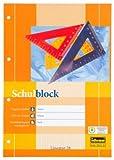 2 Schulblöcke/Schreibblöcke kariert DIN A4 / 50 Blatt je Block