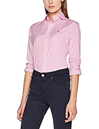 Polo Ralph Lauren Brw Kendal-Long Sleeve-Shirt, Blouse Femme