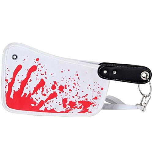 Horror Beil Brieftasche Halloween Clutch Bag ()