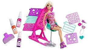 Barbie - X2345 - Poupée - Studio de Relooking Coiffure