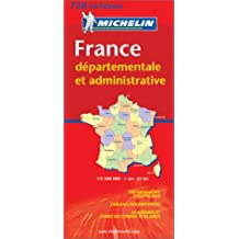 France departementale et administrative (Michelin Maps)