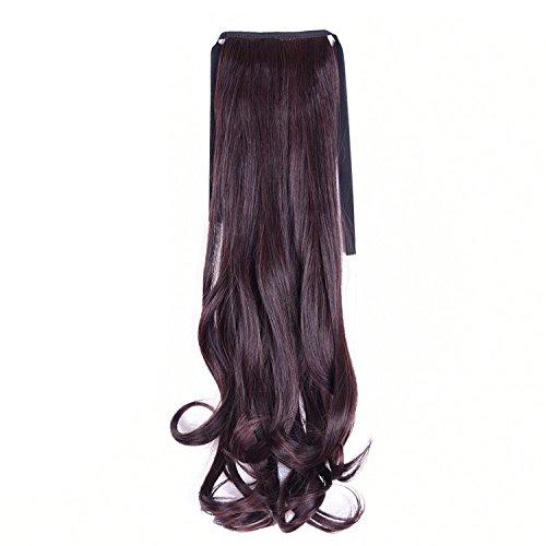 lovenea TM Miss Isabella 50cm NEU Massive und Band um Beauty Wave Pferdeschwanz Haarteile 2/33# Farben