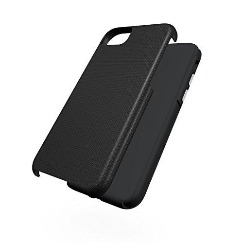 BING Für iPhone 7 Ball Texture Anti-Rutsch PC + TPU Schutzmaßnahmen zurück Fall Fall BING ( Color : Green ) Black