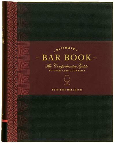 The Ultimate Bar Book: The Comprehensive Guide to Over 1,000 Cocktails Barware Cocktail-bar