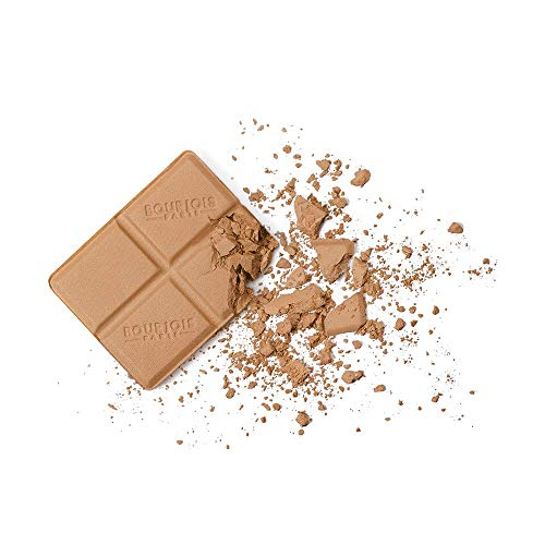 Bourjois Terra Abbronzante Delice De Poudre Bronzing Powder Compatta per Pelli Miste, 51 Light/Median Complexions