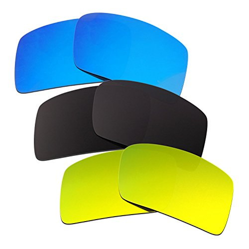 hkuco-plus-mens-replacement-lenses-for-oakley-eyepatch-2-blue-black-24k-gold-sunglasses