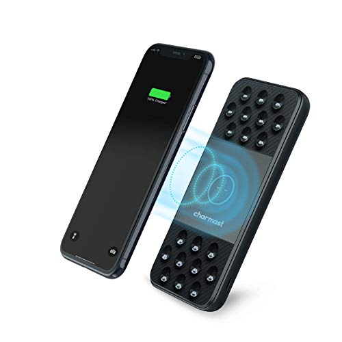 Powerbank wireless(10w max )10000mah carica rapida usb c 18w pd & usb a qc 3.0 caricatore portatile induzione con ventosa batteria portatile esterna con 3 ingressi & 3 uscite per iphone11/xr/8,samsung