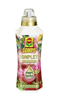 COMPO COMPLETE Pflanzendünger, hochwertiger flüssiger Universaldünger, besonders für Pflegebedürftige Pflanzen, 1 l von Compo bei Du und dein Garten