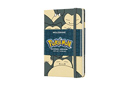 Notebook. Pokemon poket Snorlax. Limited edition