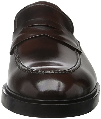 Fratelli Rossetti 45400, Mocassins Homme Rouge - Rosso (Bordeaux)
