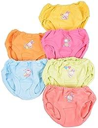 Baby Bucket Soft Cotton Baby Girl's & Boy's Panties Set of 6