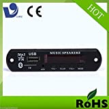 #8: Vire VTF 108BT Bluetooth FM USB AUX Card MP3 Stereo Audio Player Decoder Module Kit with Remote for Audio Amplifier DI (Vire Economy Imported)