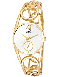 ZIERA ZR8045 GOLDEN STAINLESS STEEL Analog Watch - For Women