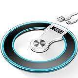 Bilancia elettronica Bilancia pesapersone per uso domestico Bilancia per salute accurata LCS (Colore : NERO)