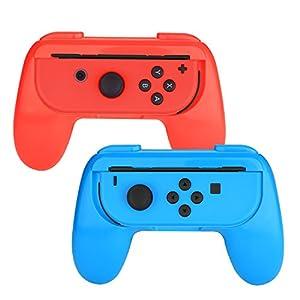 Myriann Nintendo Switch Joy-Con Grip, Packung mit 2 Verschleißfesten Joy-Con Griff für Nintendo Switch