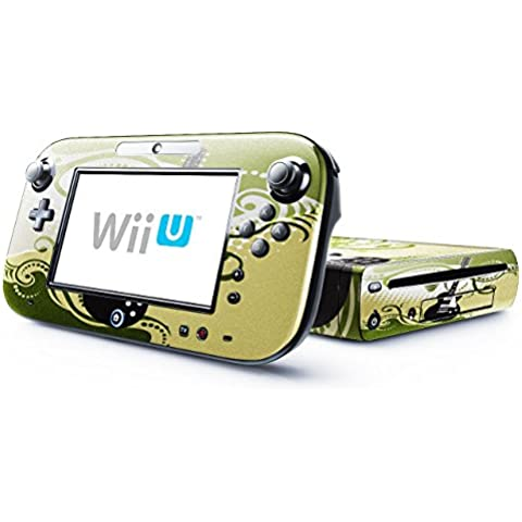 Mia Musica 10006, Chitarra, Skin Autoadesivo Sticker Adesivi Pelle Cover Decal Set con Disegno Strutturato con Nintendo Wii U