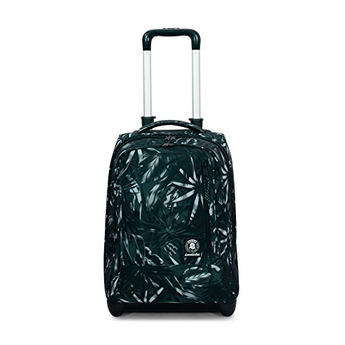 Trolley invicta - tindy - darker nature nero - 36 lt spallacci a scomparsa! uso zaino scuola e viaggio