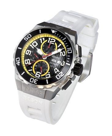Ingersoll Fine Automatic Herren-Armbanduhr Bison NO.53 IN4513WH
