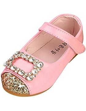 Fuibo Babyschuhe, Baby Kinder Fashion Sneaker Kinder Mädchen Casual Single Leder Prinzessin Schuhe