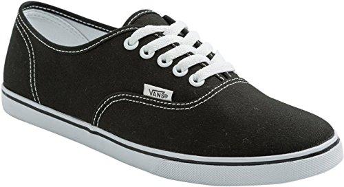 Vans - U Authentic Lo Pro (Hickory Stripe, Sneaker basse Unisex – Adulto Black/True White