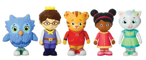 Daniel tiger's neighborhood friends figures set by tolly tots - domestic