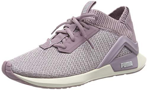 Puma Damen Rogue Wn's Laufschuhe, Violett (Elderberry-Whisper White) 38.5 EU (High-top-sneakers Von Puma Womens)