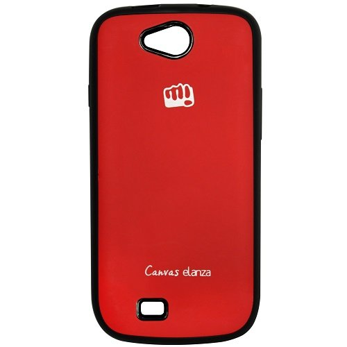 Casotec TPU Back Case Cover for Micromax Canvas Fire A093 - Red  available at amazon for Rs.119