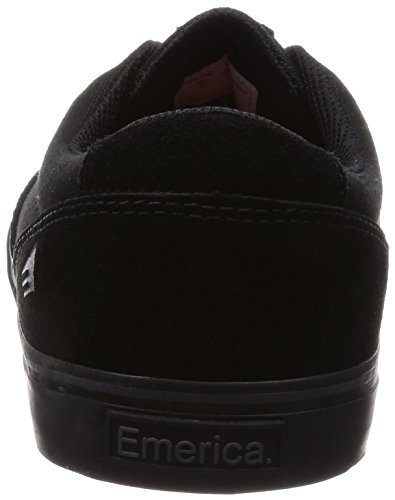 Emerica - Provost Slim Vulc, Scarpe Da Skateboard da uomo Nero (black/black/noir)