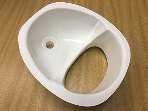 Das Original Fiberglas Urintrenner/Umsteller für Kompost WC