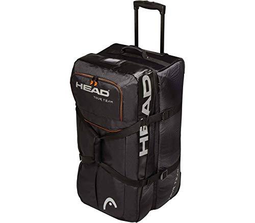 HEAD Tour Team travel Bag Reisetasche Schwarz - Silber -
