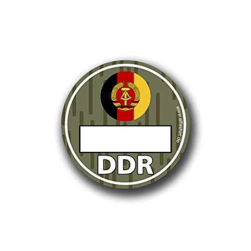 DDR Umweltplakette NVA Umweltzone Ostdeutschland Tuning Humor 8cm#A4799