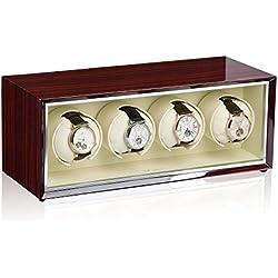 Luxwinder Uhrenbeweger Stella für 4 Automatikuhren in makassar beige 430462