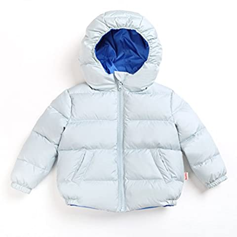 Nanny McPhee Kids Down Coat Unisex Baby Reversible Down Puffer Jacket Outwear 5-36 Months