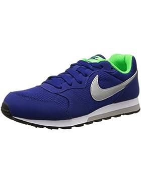 Nike MD Runner 2 (GS) Zapatillas, Niños, Azul, 37 1/2