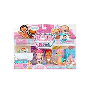 Baby Secrets 3 bebé con Acc. 4ass, 1