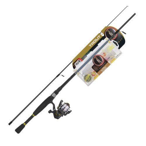 Ready 2 Fish Trout Spin Combo with Kit, Ultra Light by Ready 2 Fish