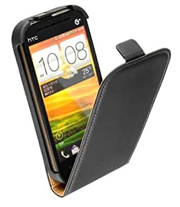 Yayago Premium Flip Style Leather Case for HTC One SV Black