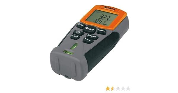 Einhell Ultraschall Entfernungsmesser : Einhell ndm ultraschall distanzmesser amazon baumarkt