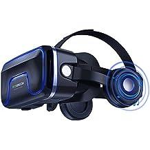Occhiali Virtuali 3D, LEKAMXING 3D Realtà Virtuale (VR) Occhiali Compatibile con tutti gli Smartphone come Samsung,Galaxy, iphone, Android, Huawei , da 4,0 a 6,0 Pollici - Regalo Perfetto di Natale e di Compleanno (VR05)