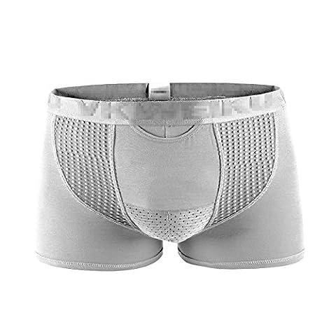 Männer Atmungsaktiv Unterwäsche Mesh Magneten Gesundheitswesen