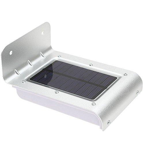 SODIAL(R) 16 LED Lampe/Lumiere d'Energie Solaire Detecteur Sonore Mouvement lampes a economie d'energie Jardin Couloir Cour En Plein Air eclairage