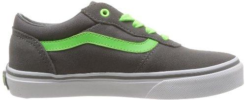 Vans Y Milton, Jungen High-Top Sneaker Grau (neonpop/char)