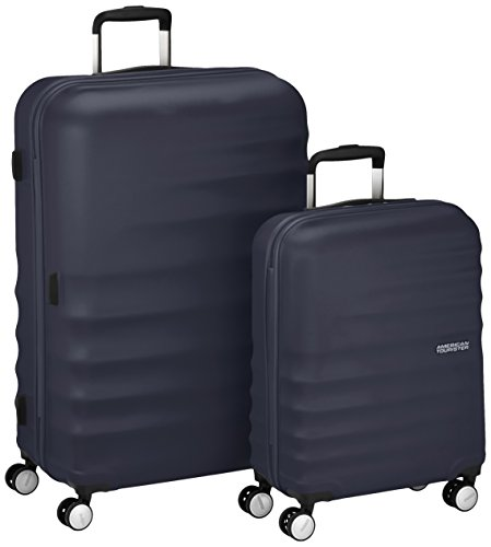 American Tourister Wavebreaker 2 Pieces A Koffer-Set, 96 Liter, Nightshade