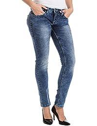 "Timezone Ninitz ""3821 Loom Wash"" - Jeans - Slim - Femme"