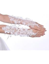 Topwedding gants de mariée/ gants de soirée140024,Ivoire