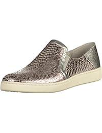 Tamaris Damen Slipper SilberRosé: : Schuhe